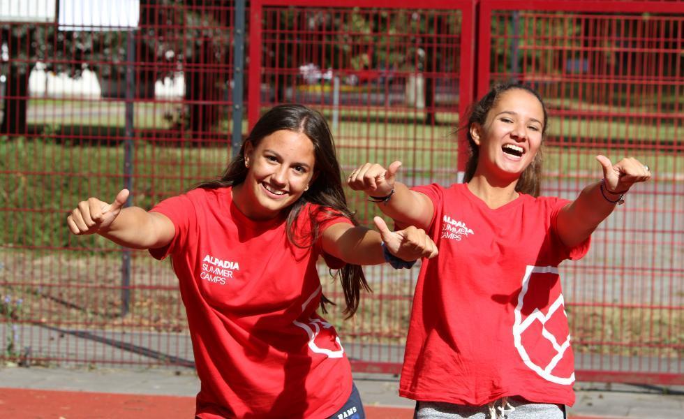 студенты Berlin-Werbellinsee, Alpadia Summer Camps