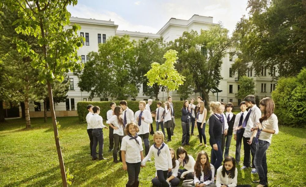 студенты школы Amadeus International School Vienna