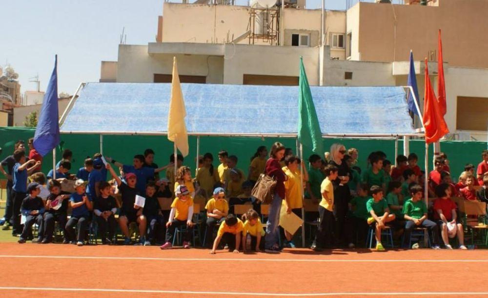 American Academy Limassol дети на соревнованиях