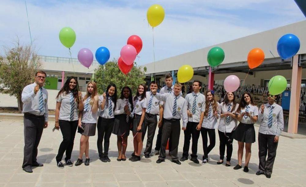 American Academy Limassol дети в школе