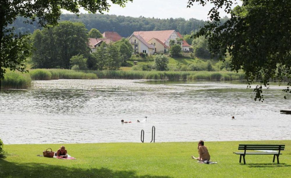 территория лагеря Bad Schussenried, Humboldt-Institut