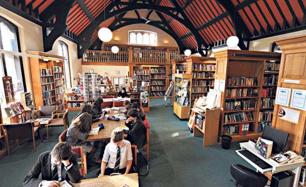 Библиотека St. Peter's School