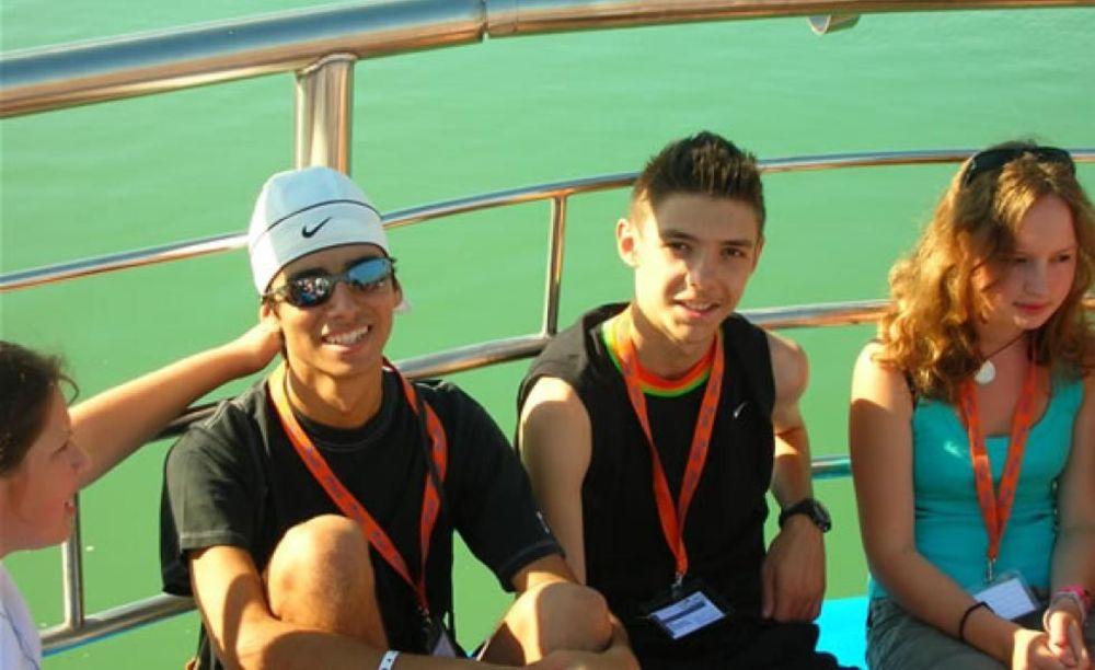 "прогулка в лагере MB International Summer Camp Lignano - компания ""Аспект"""