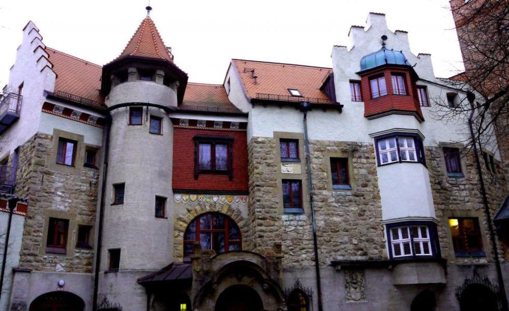 Burg Schwaneck, замок Бург Шванек