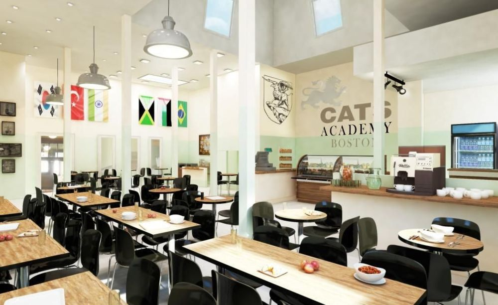 CATS Academy Boston кафетерий