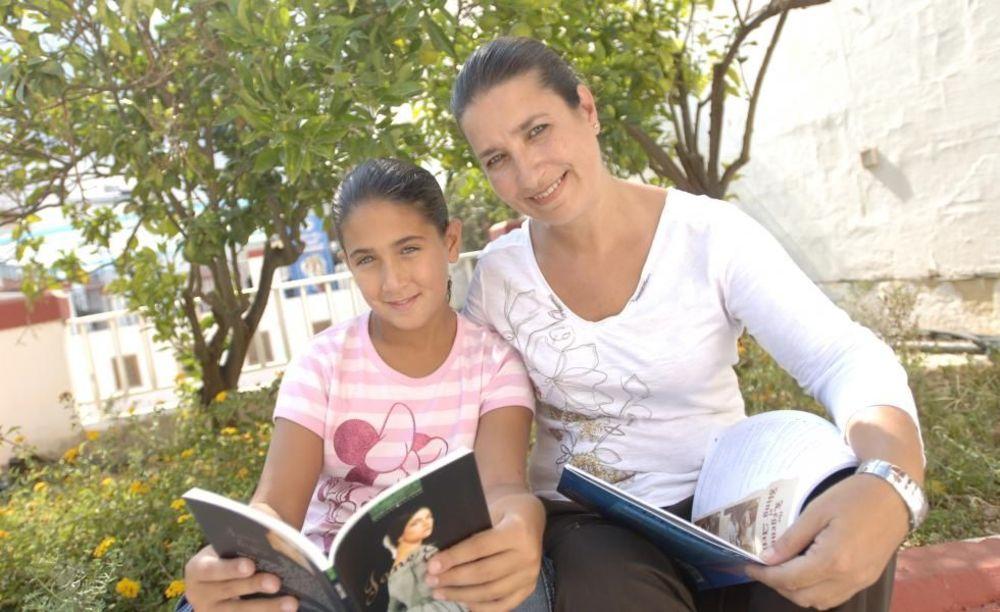 семья на занятиях Clubclass Language School, Swieqi