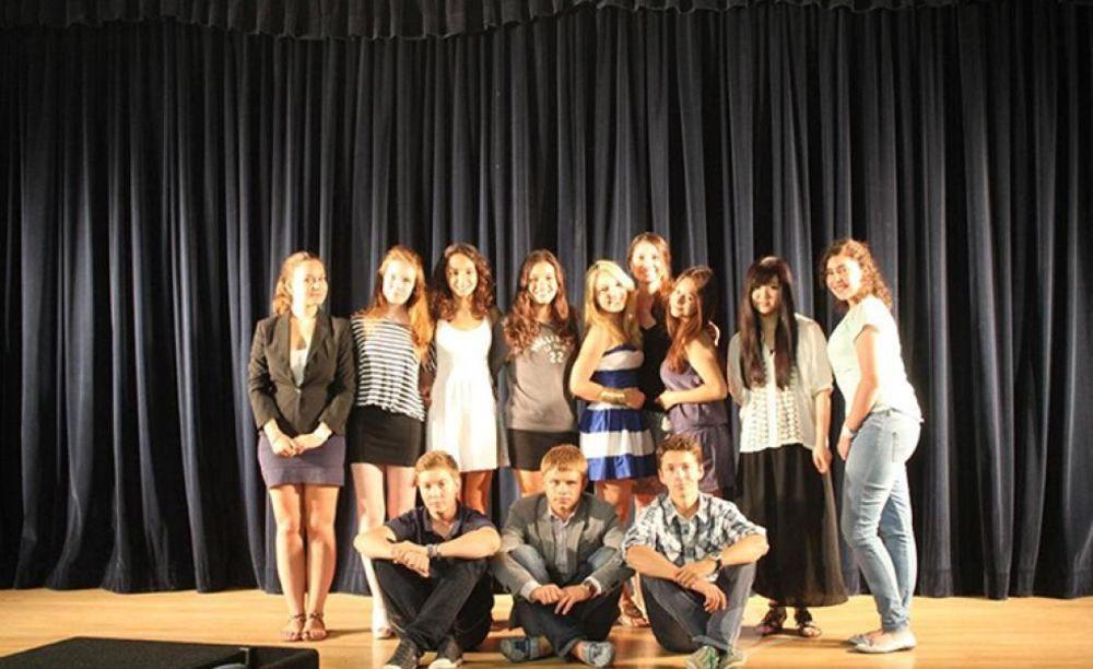 лагерь FLS California State Univeristy дети на мероприятии