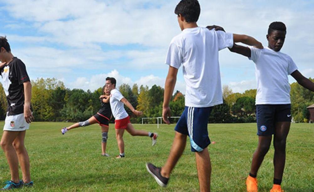 Ecole de Tersac занятия спортом