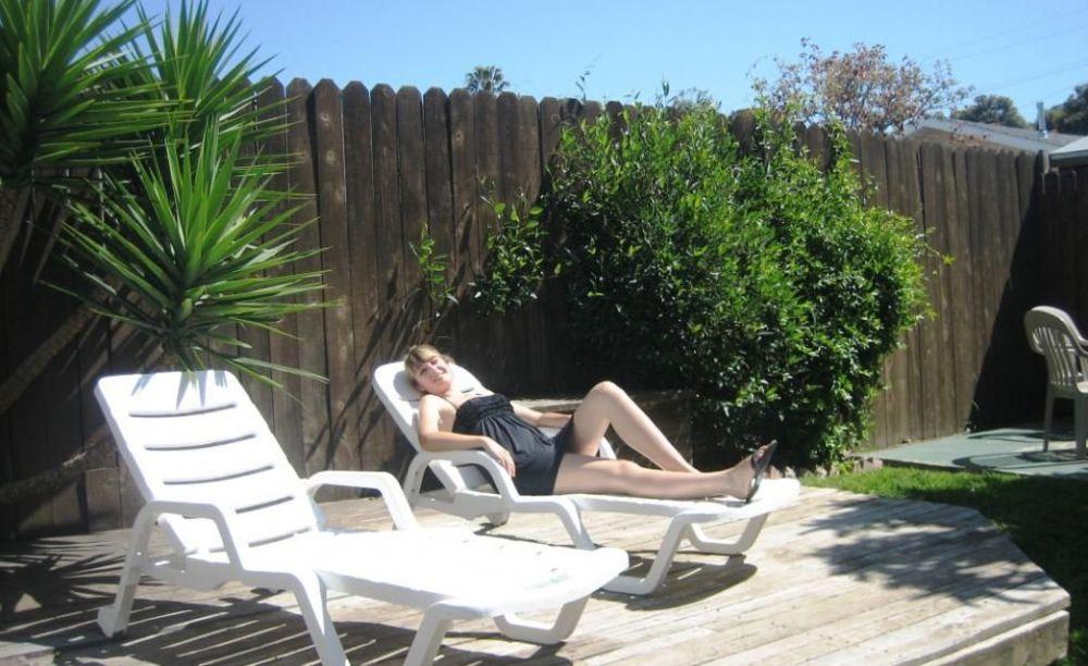 ELC Santa Barbara студентка отдыхает