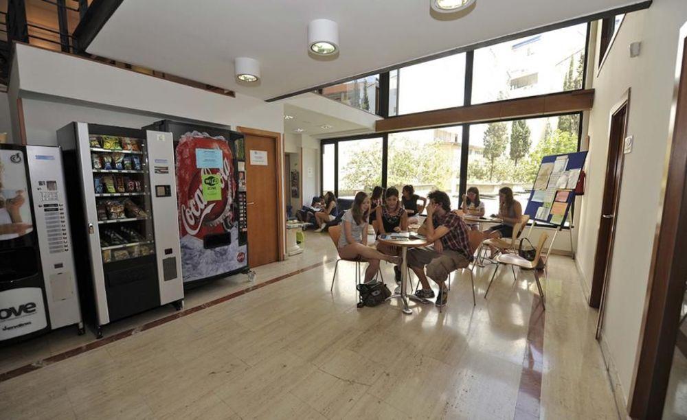 Enforex Madrid дети в столовой