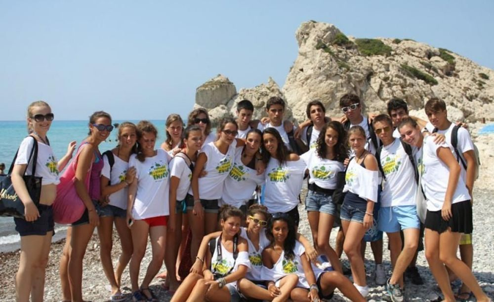 English in Cyprus дети на отдыхе