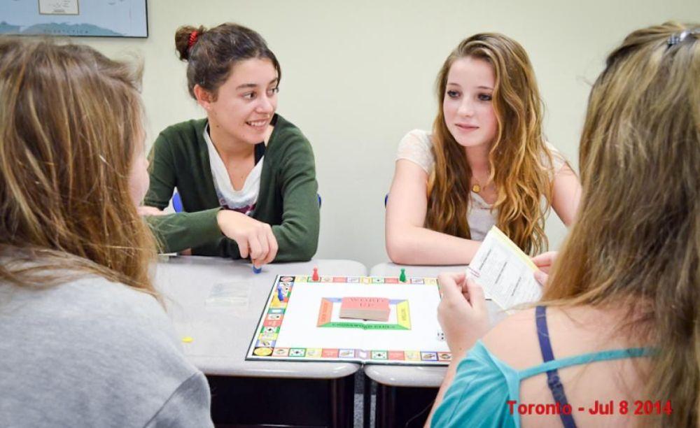 Eurocentres Toronto занятия в классе