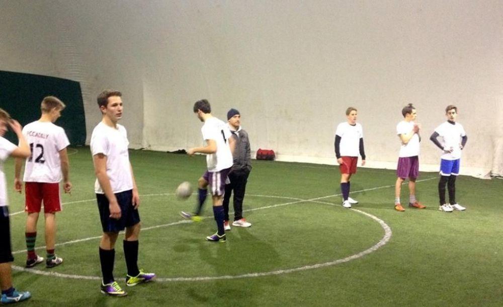 Футбол Canadian College Italy