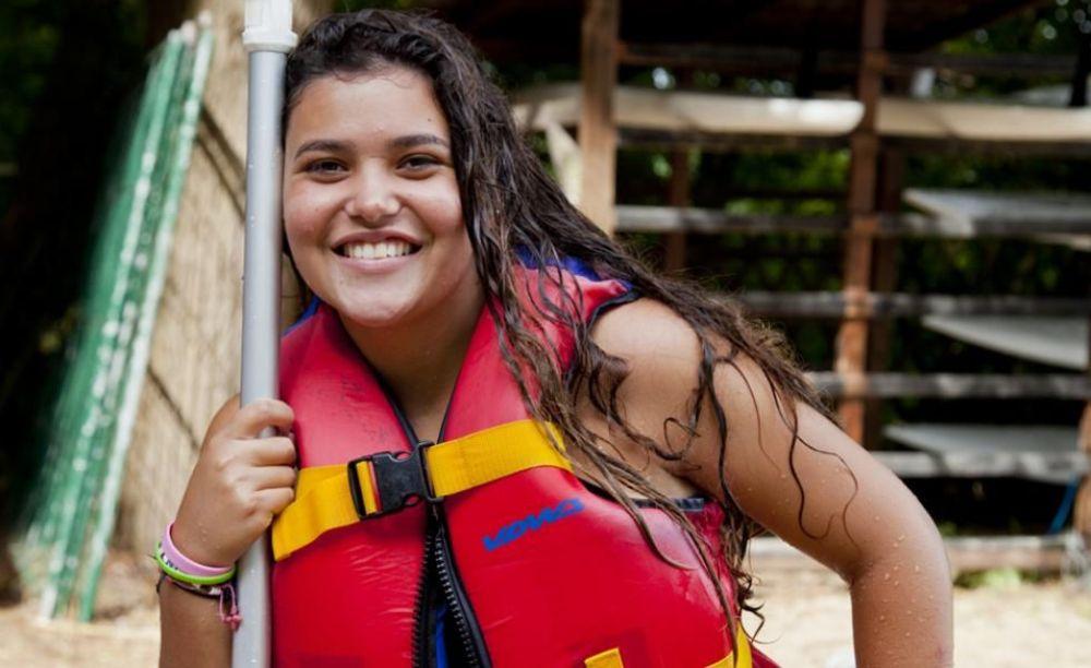 GLS Berlin Watersports девочка на лодке