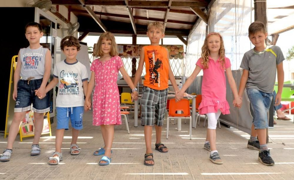 GV Malta School школьники на Мальте