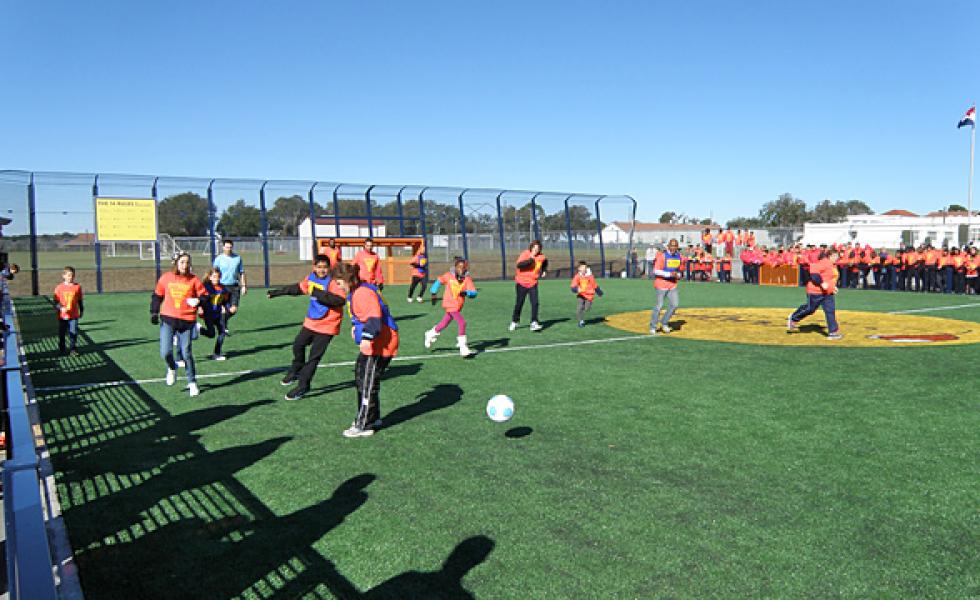 спортивная тренировка в Montverde Academy