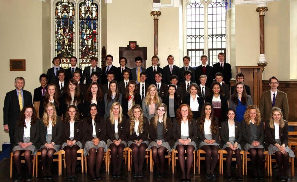 хор в школе St. Peter's School