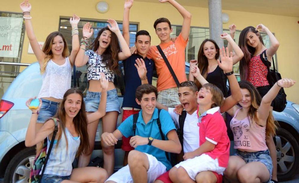 развлечения детей в лагере LAL на Мальте