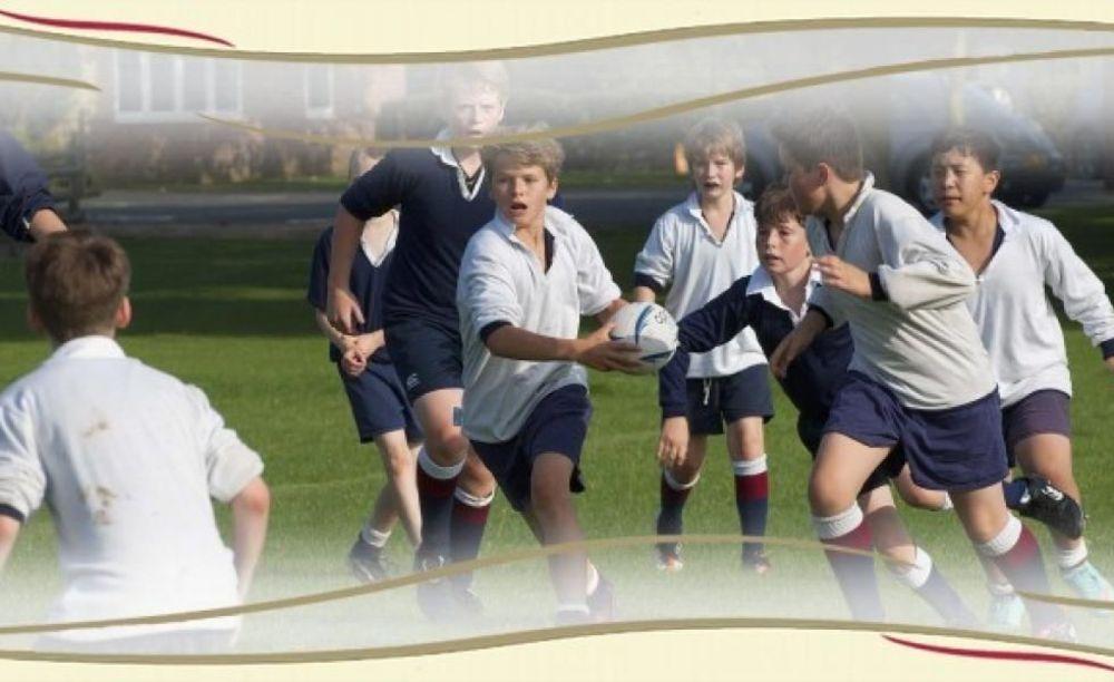 игра в регби в Kent College Canterbury