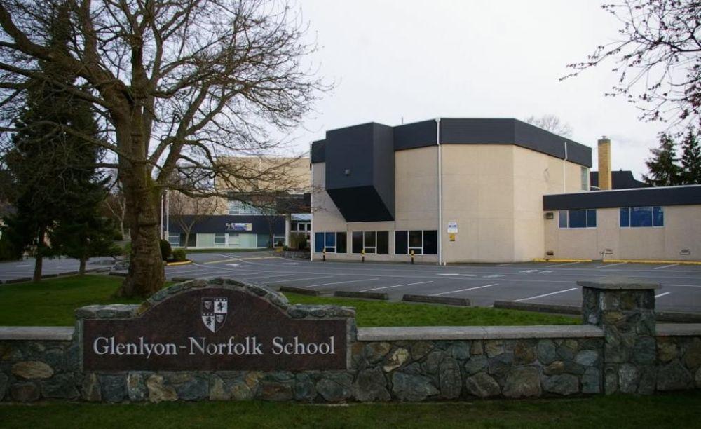 территория школы Glenlyon Norfolk School