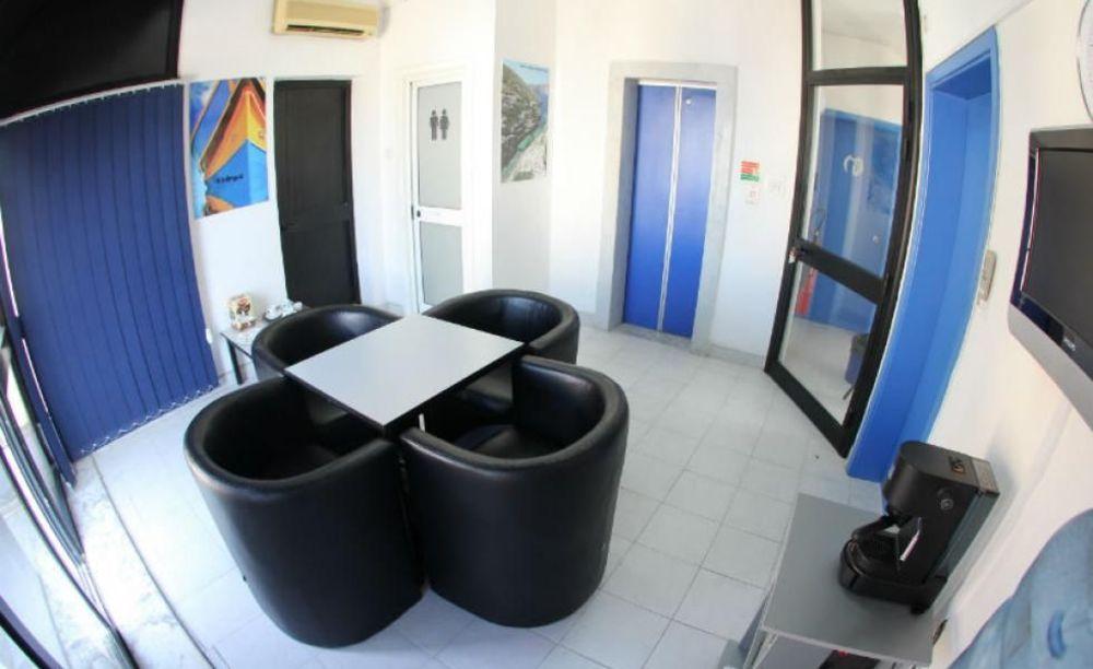 Inlingua Malta зона для отдыха