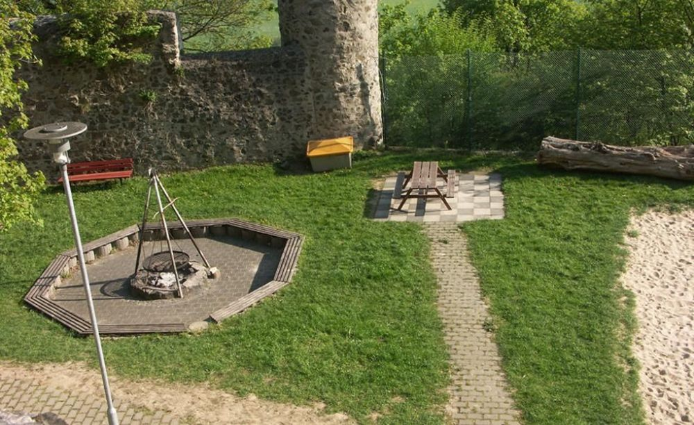 International Projects замок Hohensolms внутренний двор