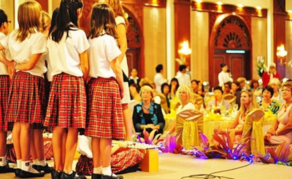 выступление детей Regent's International School Bangkok