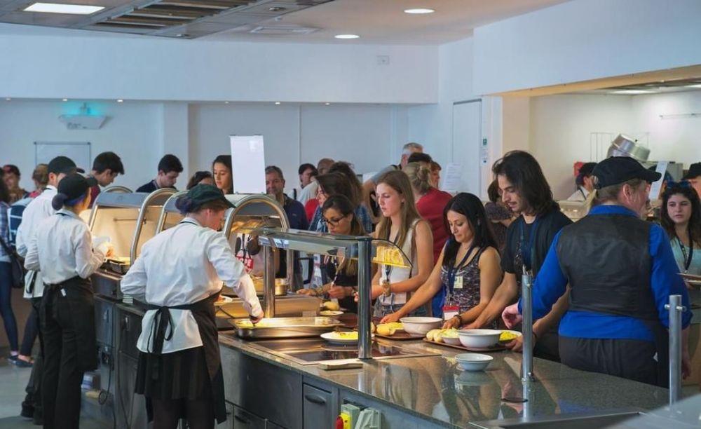 Кафетерий Royal Holloway University