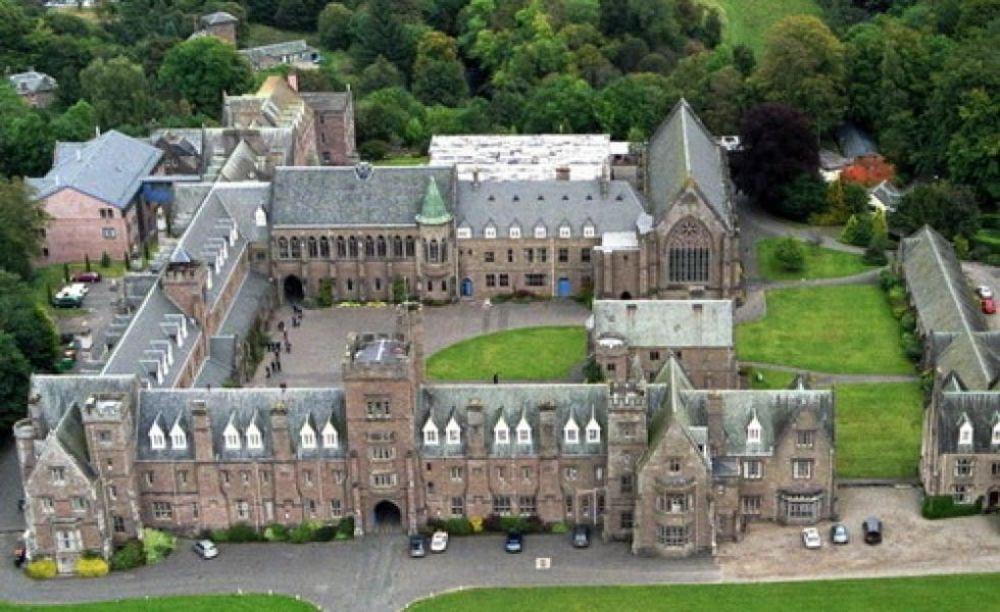 кампус школы Glenalmond College
