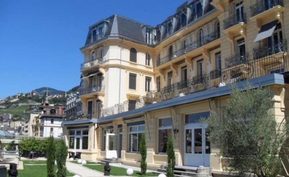 кампус Hotel Institute Montreux