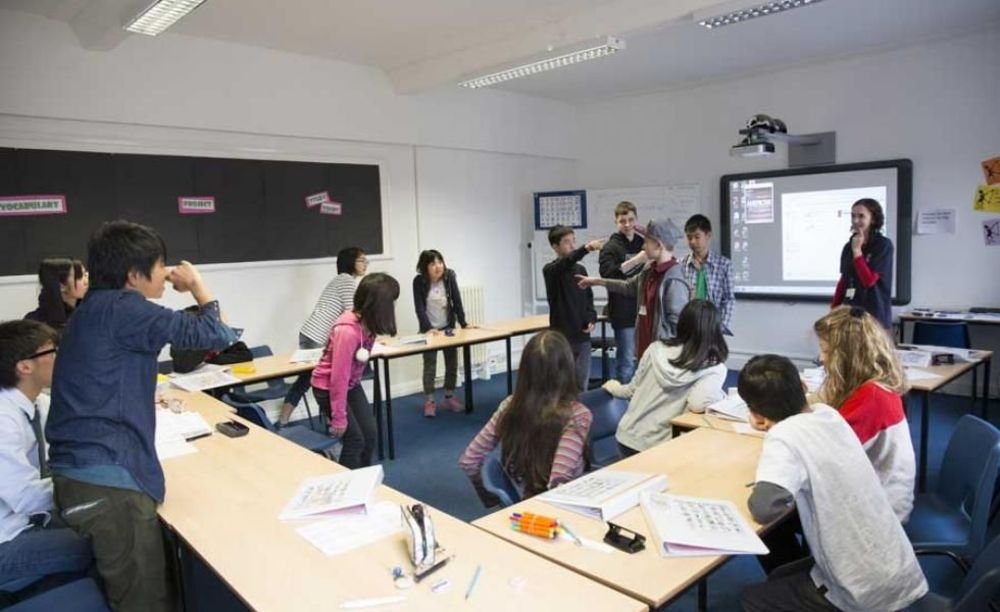 Класс 2 St Albans. Аспект - Образование за рубежом.