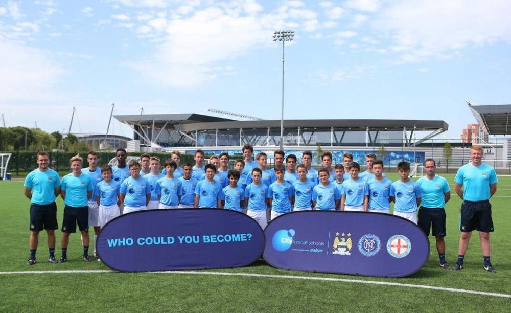 Команда City Football Schools.  Аспект - Обучение за рубежом.