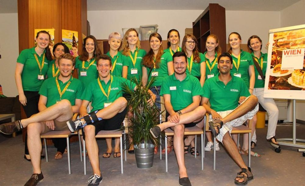 команда лагеря Actilingua в Вене
