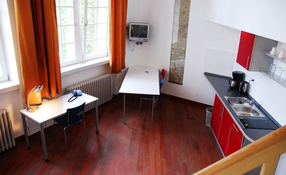 комната в апартаментах GLS Berlin