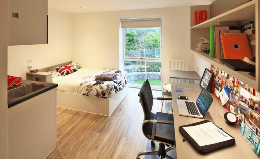 комната в резиденции школы London Tutorial College