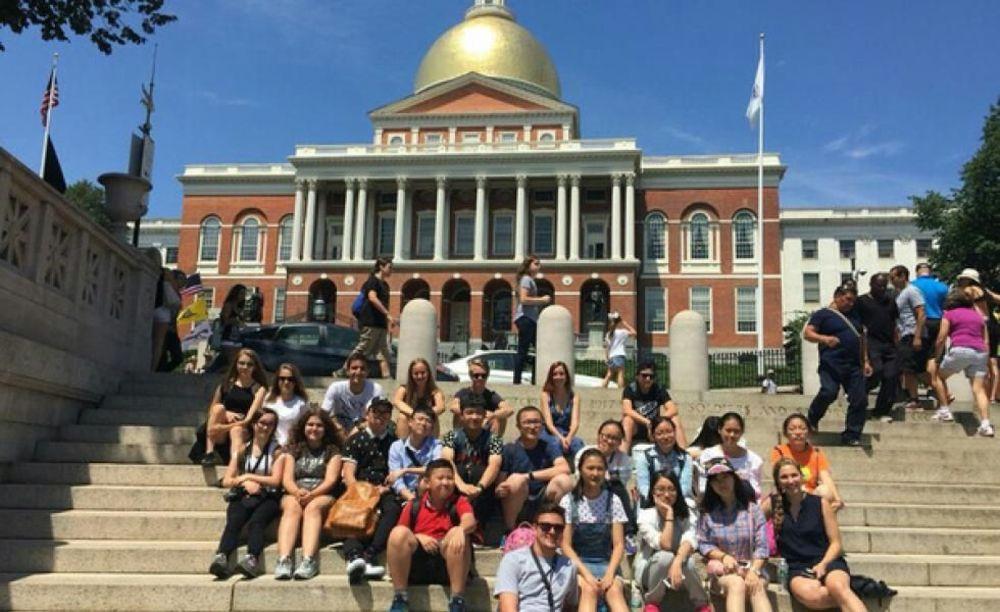 LAL Boston дети на экскурсии