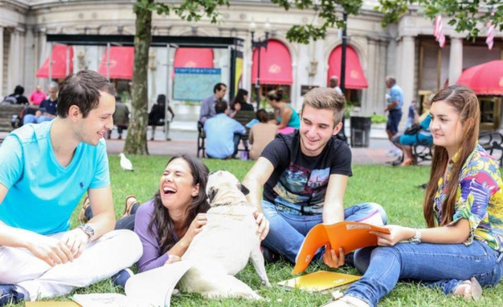 LAL Boston студенты отдыхают