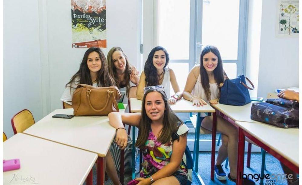 дети на занятиях Langue Onze Toulouse