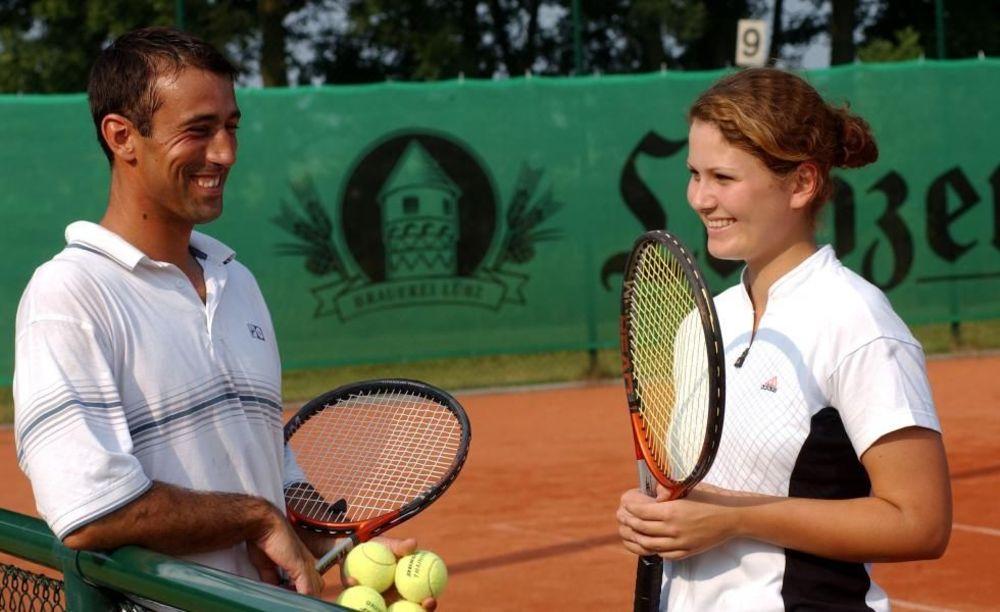 занятия по теннису в лагере Lindenberg, Humboldt – Institut