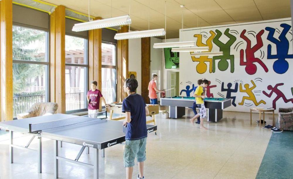 развлечения в лагере Lindenberg, Humboldt – Institut