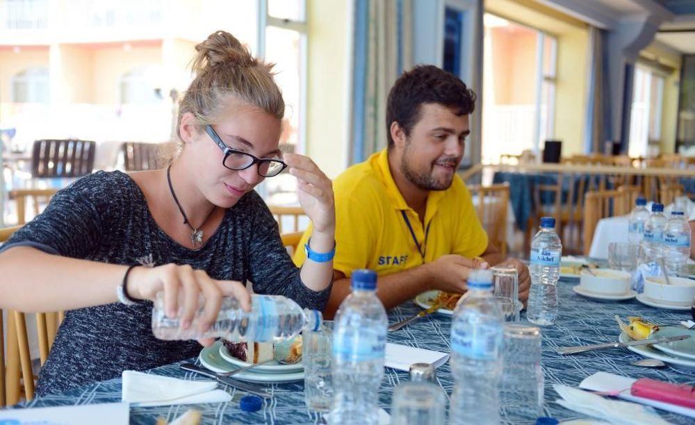 співробітники в готелі Clubclass Mellieha, Paradise Bay Hotel
