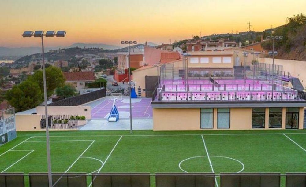 спортивные площадки в лагере Colegio Unamuno (Malaga), Enfocamp