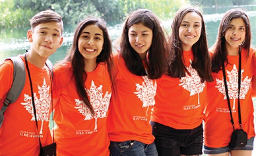 участники лагеря ILSC в Монреале