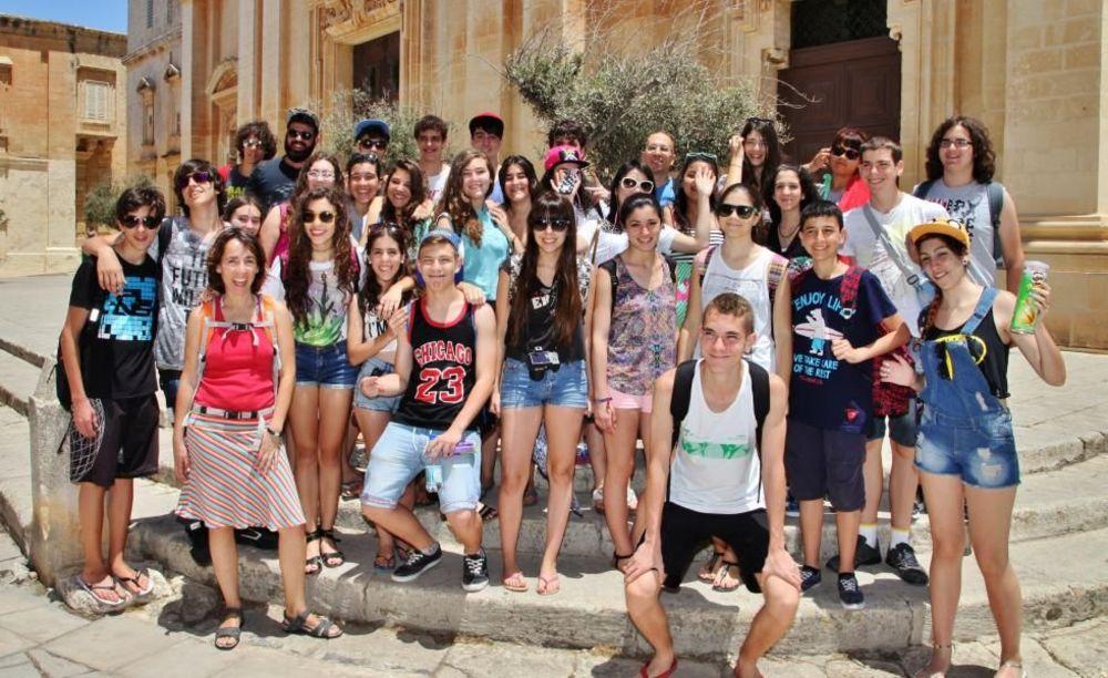 NSTS Malta дети в лагере на Мальте