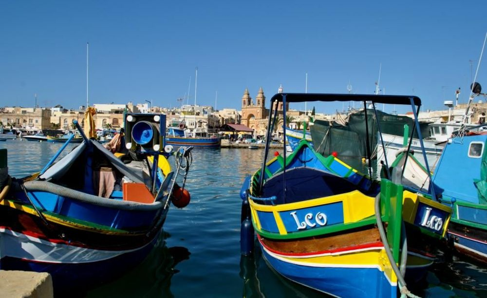 NSTS Malta прогулка по городу