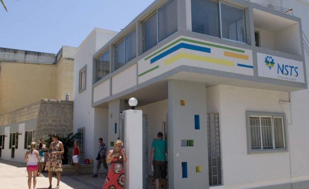 NSTS Malta здание школы