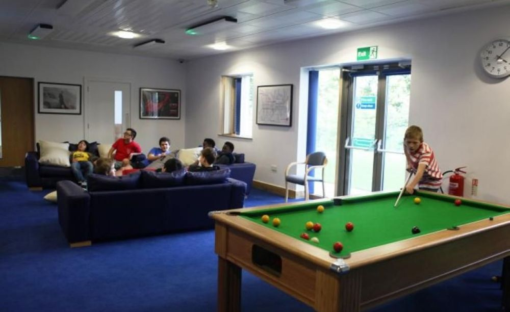 Общая комната Whitgift School
