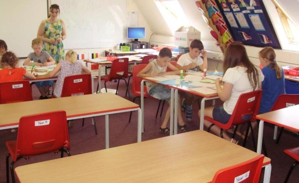 уроки в лагере Moreton Hall