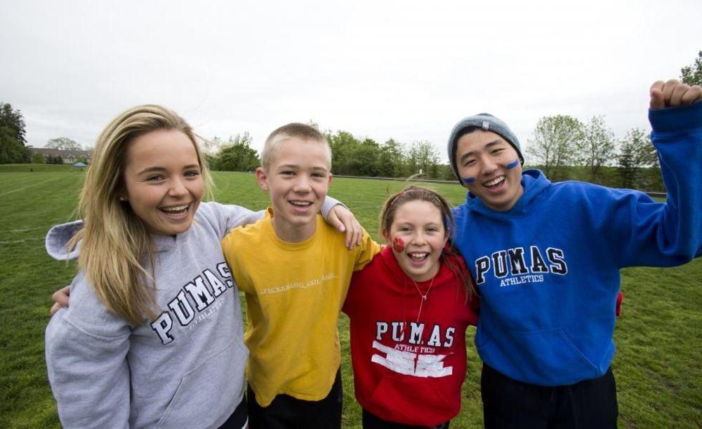 участники лагеря Pickering College