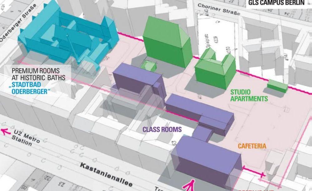 план школы GLS Berlin